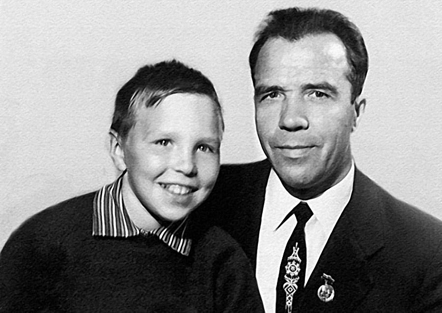 Гарик Сукачев с отцом