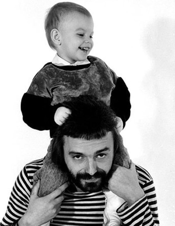 Кинчев с сыном Женей