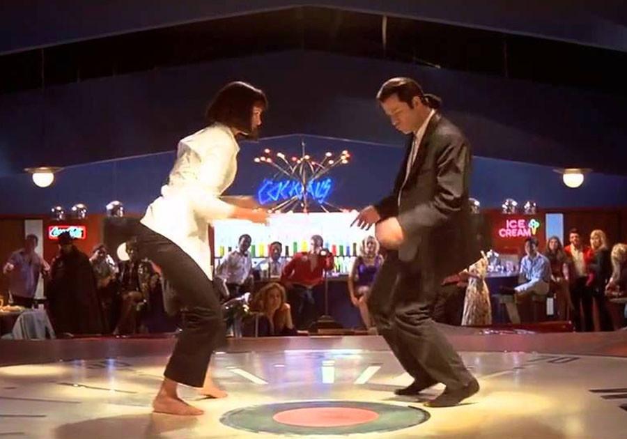 Ума турман танец из фильма кристен стюарт что делает сейчас
