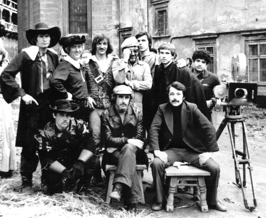 съёмочная группа Трёх мушкетеров