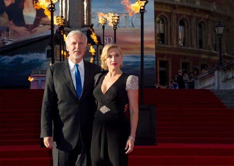 James Cameron Kate Winslet