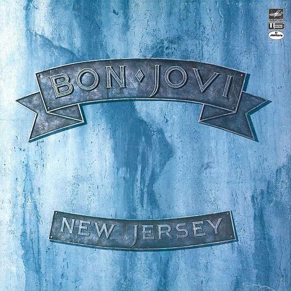 Пластинки из 80-х. Зарубежная эстрада Bon Jovi (front)