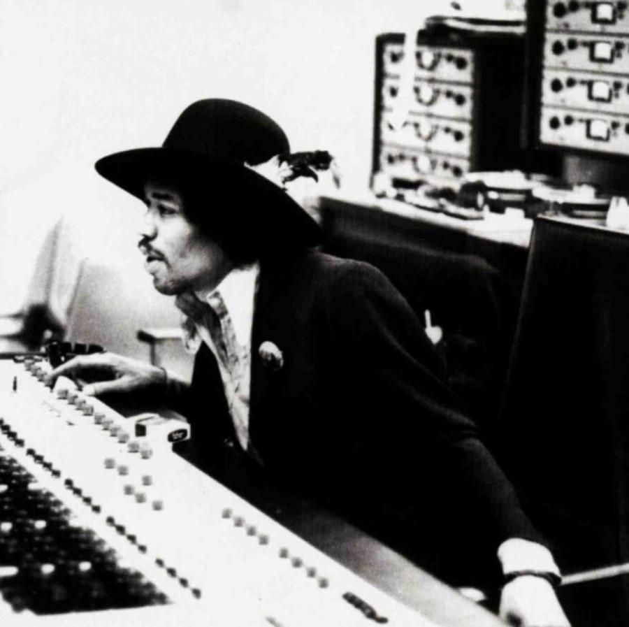 301 Джими Хендрикс в студии,  1968 год