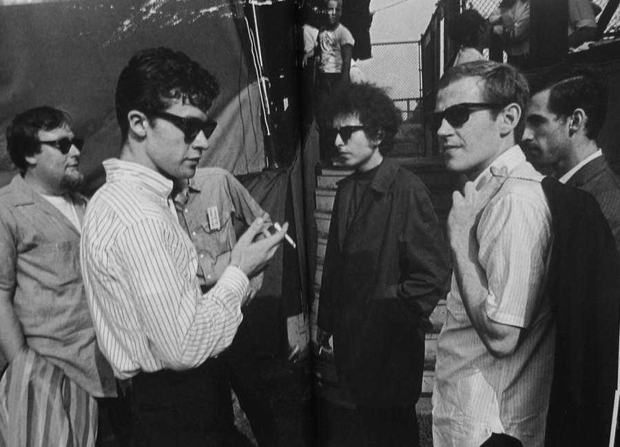 303 Боб Дилан, Робби Робертсон, Левон Хелм, 1965 год