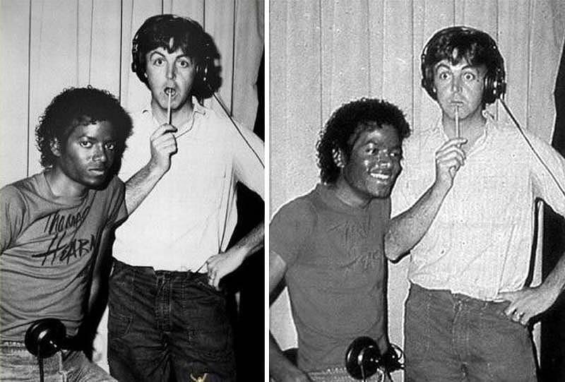 320 Майкл Джексон и Пол Маккартни