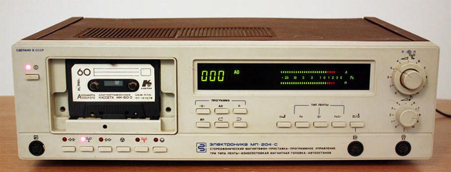 Электроника-204-стерео