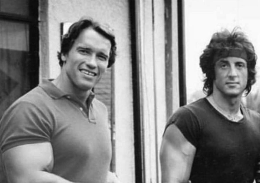 Арнольд Шварценеггер и Сильвестр Сталлоне - Когда Конан и Рэмбо работали вместе !