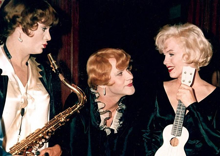 """""""В джазе только девушки"""". Как Мэрилин Монро стала Душечкой Кэйн"""
