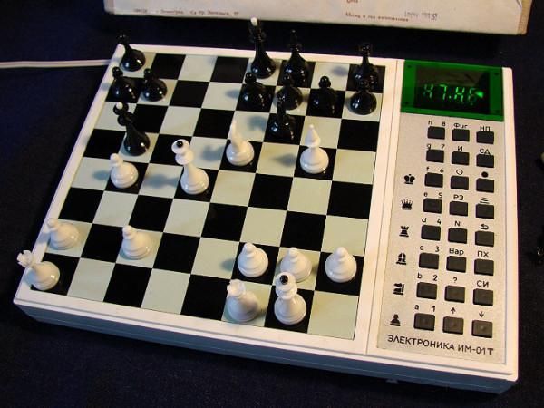 Шахматный компьютер 3