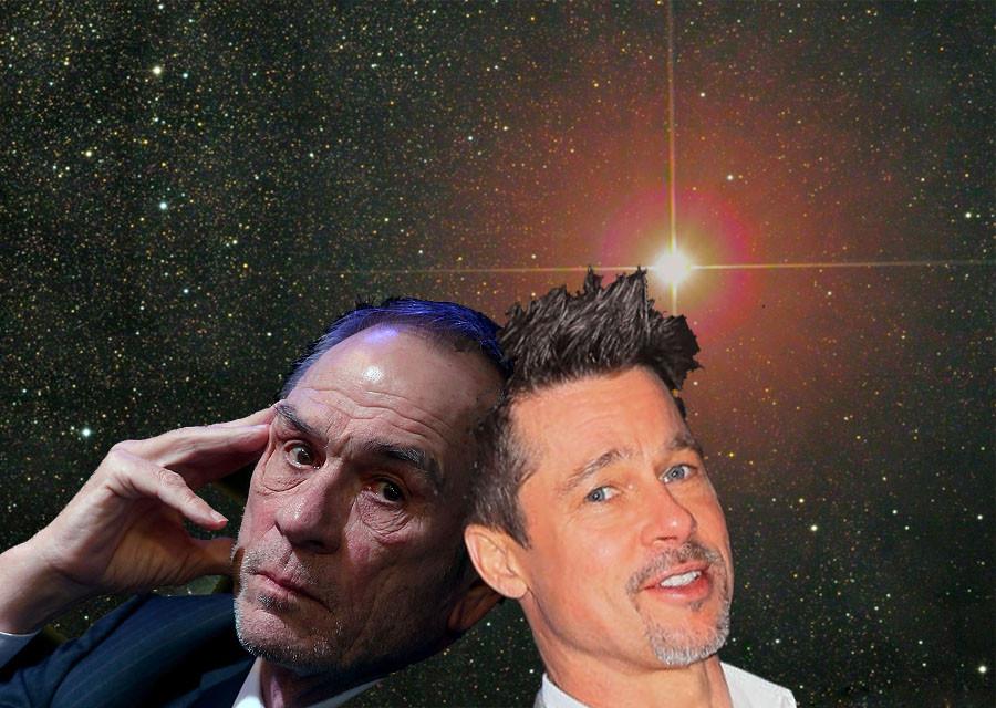 Брэд Питт и Томми Ли Джонс в новой научной фантастике