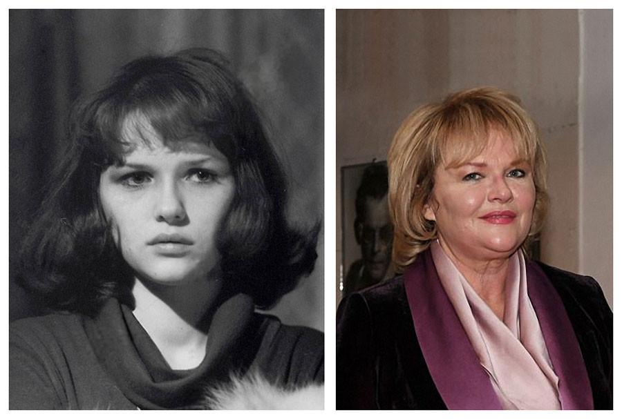 Советские актёры в своих первых фильмах и сейчас