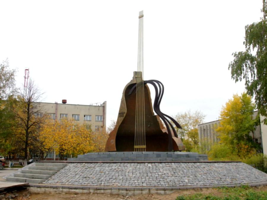 80 Мемориал Владимиру Высоцкому в г.Набережные Челны