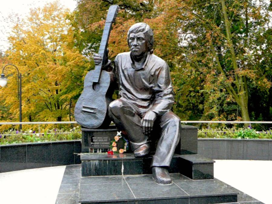 81 Памятник Владимиру Высоцкому в Центральном парке Калинграда