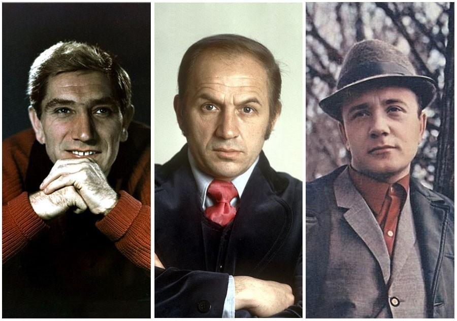 Most removed Soviet actors
