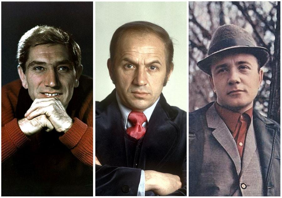 Самые снимаемые советские актёры