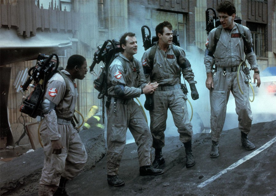 """Ghostbusters"". How did the actors of the film for 33 years"