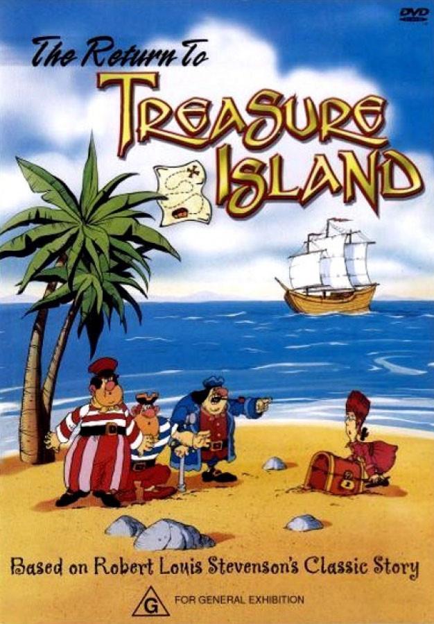 Американская версия советского мультфильма Остров сокровищ