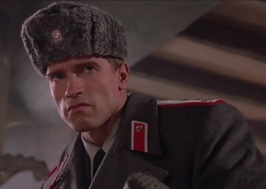 """Red Heat"". How did the actors of the film for 30 years"