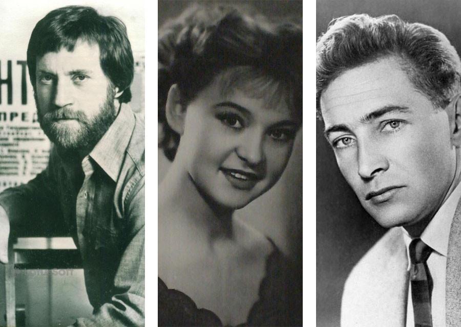 Первые роли в кино известных советских актёров. Часть 1. Гурченко, Высоцкий, Тихонов