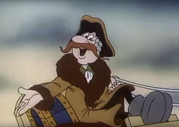 Малоизвестный мультфильм о приключениях Мюнхгаузена в России