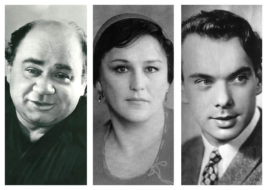 Первые роли в кино известных советских актёров. Часть 4. Леонов, Мордюкова, Баталов