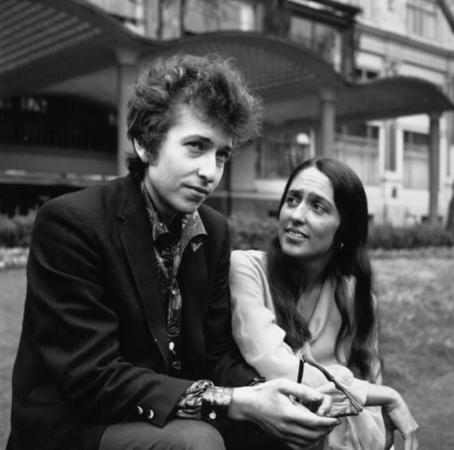 404 Боб Дилан и Джоан Баэз, 1965