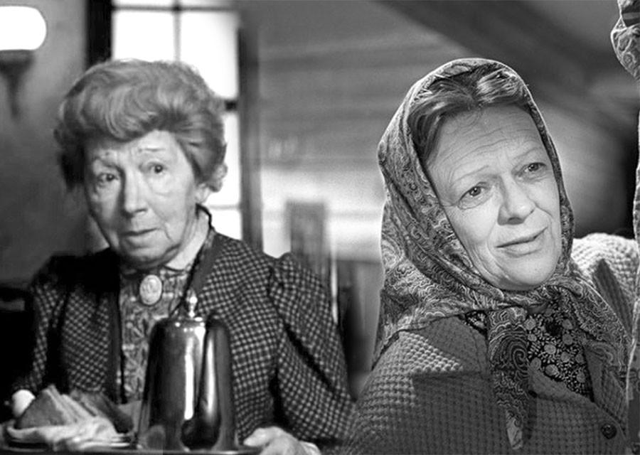 Любимые бабушки советского кино в молодости