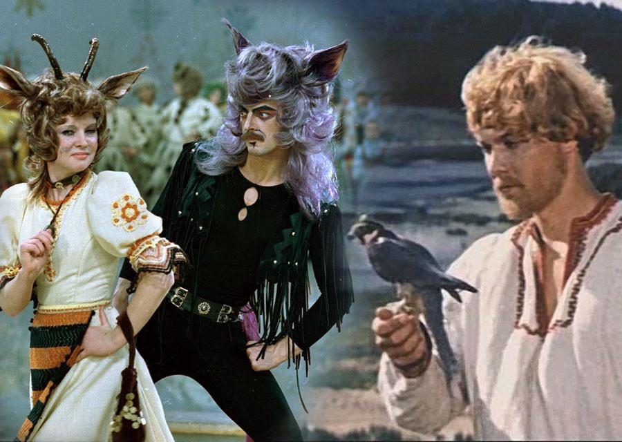 The best Soviet film fairy tale. Eighth Round Filmstrip