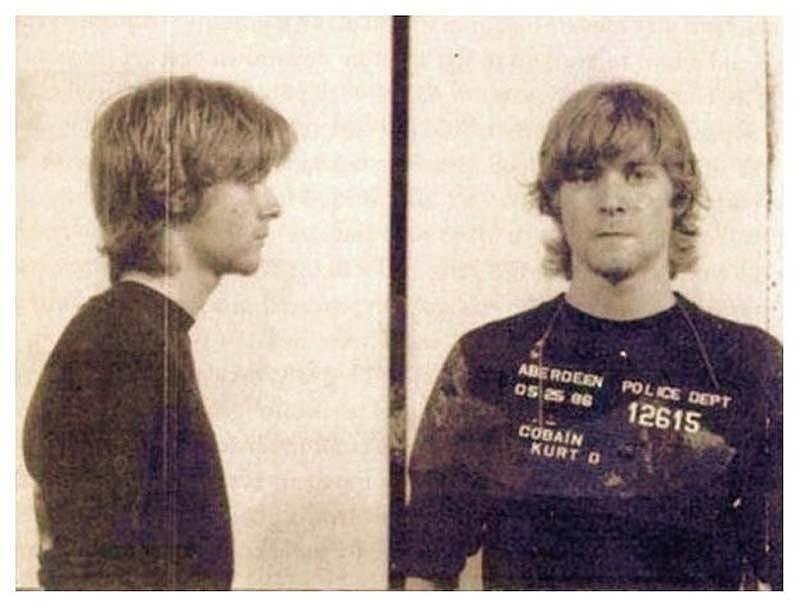 420 Курт Кобейн во время ареста