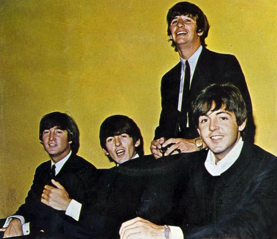 425 The Beatles - рисунок рукав - 1965