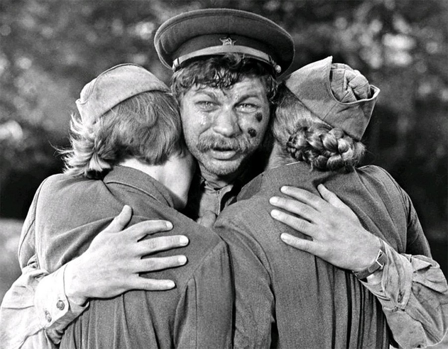 The highest-grossing Soviet films in the 70s viewers, place, hire, film, hire, films, best, Second, Third, film, only, place, took, melodrama, then, Leader, changes, profession, Vasilyevich,