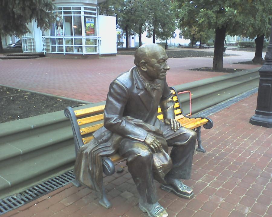 117 Скульптура Евгения Евстигнеева в Нижнем Новгороде