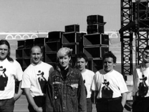 001 Джоанна Стингрей и группа Игры на гастролях в Минске