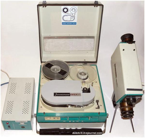 107 Видеомагнитофон Электроника-501-видео 1974 г