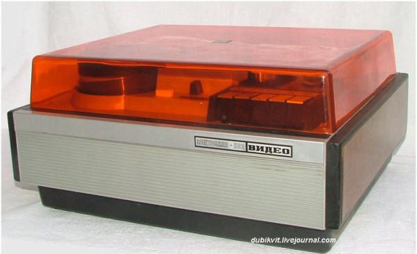 108 Бытовой катушечный видеомагнитофон Электроника-502-видео 1976 г