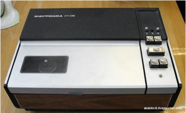 109 Катушечный видеомагнитофон Электроника Л1-08 1975 г