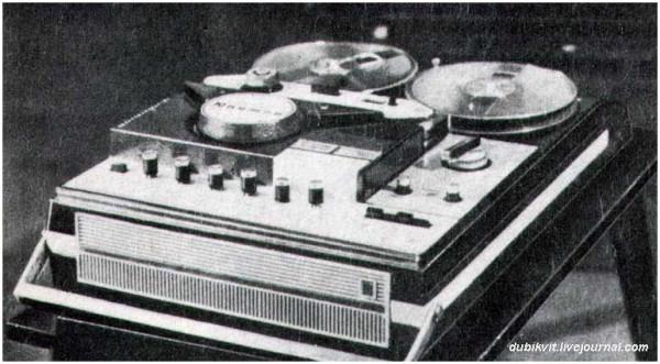 110 Катушечный видеомагнитофон Юпитер-205 1974 г