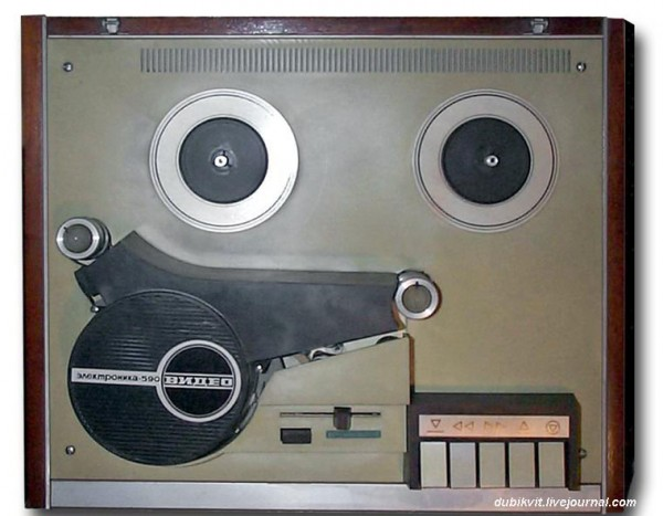 111 Катушечный видеомагнитофон Электроника-590-видео 1978 г