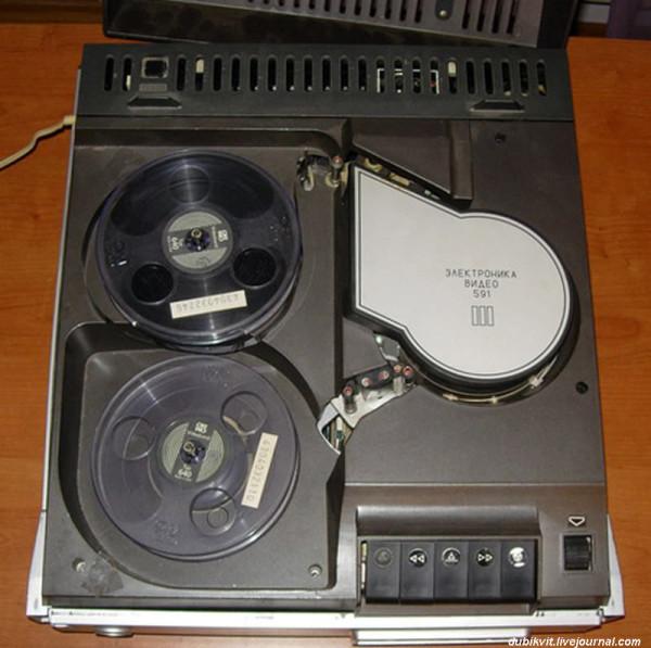 114 Видеомагнитофон Электроника-591-видео 1982 г