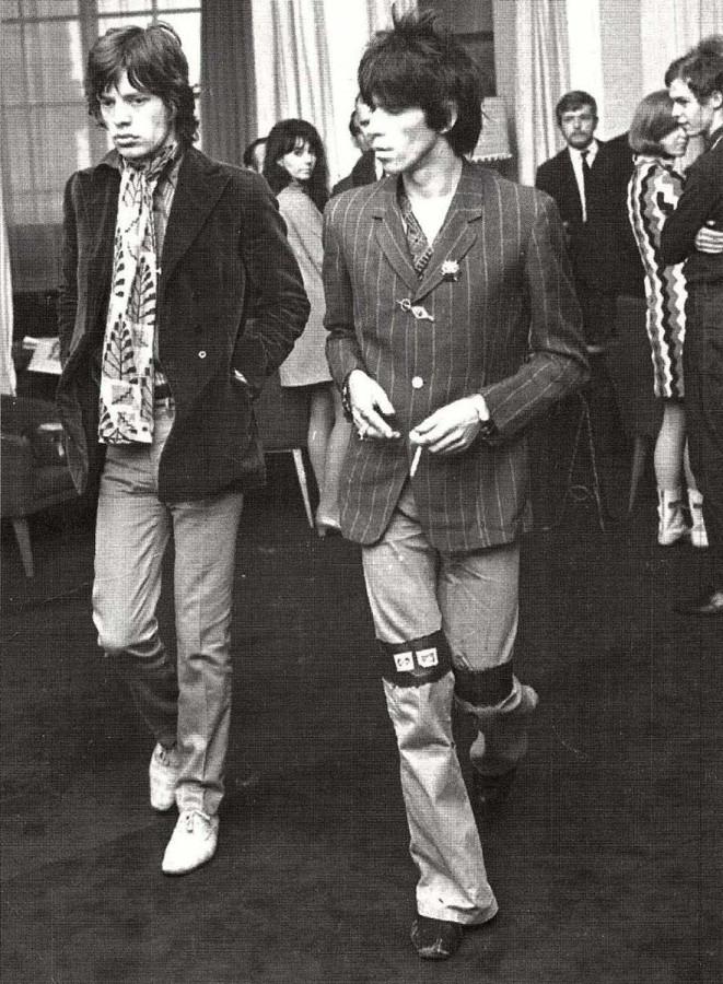 451 Keith & Mick - 1967