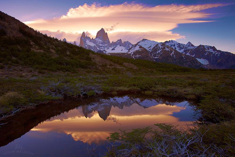 Фитц Рой, Национальный парк Лос Гласиарес, Патагония, Аргентина, ноябрь 2013.jpg