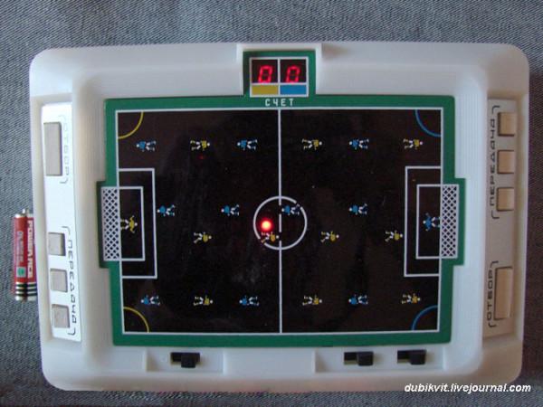 020 Электронная игра Футбол