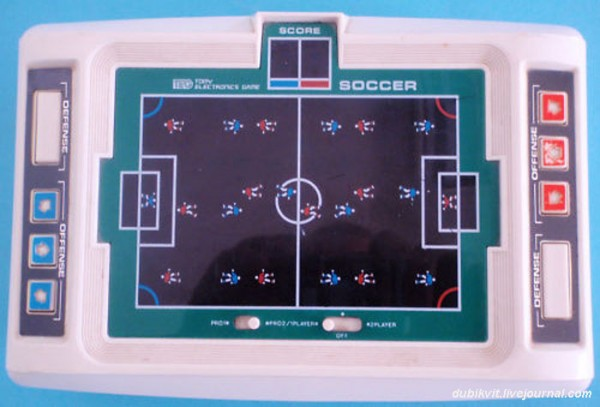 021 World Cup Soccer от TOMY Electronics 1979г