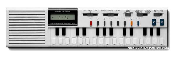 А вы знаете с чего Электроника в СССР скопировала свои электронные изделия?! 031 Casio VL-Tone