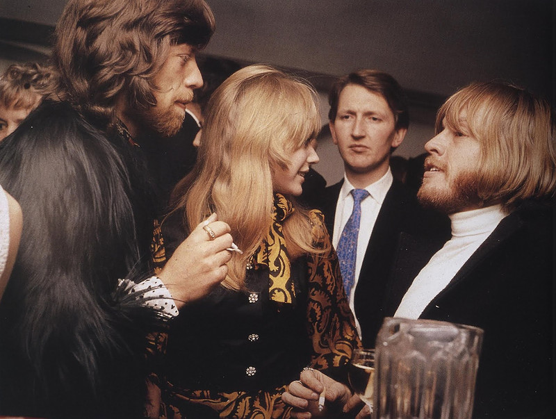 588 Mick Jagger, Marianne Faithfull, and Brian Jones, 1968.jpg