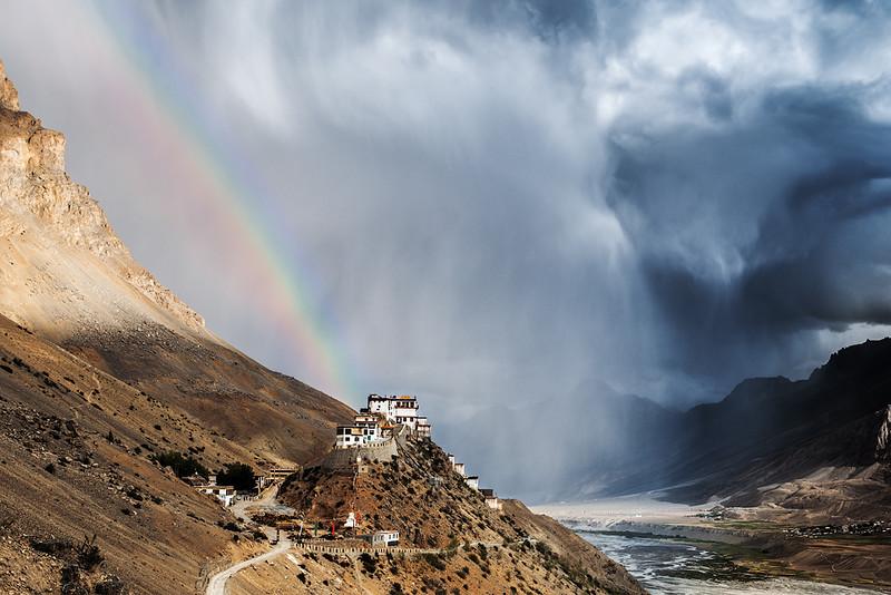 Индия. Долина Спити. Монастырь Ки.jpg