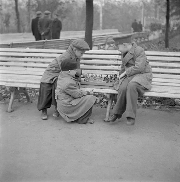 Шахматисты. Автор Волков Эрвин, 1957.jpg
