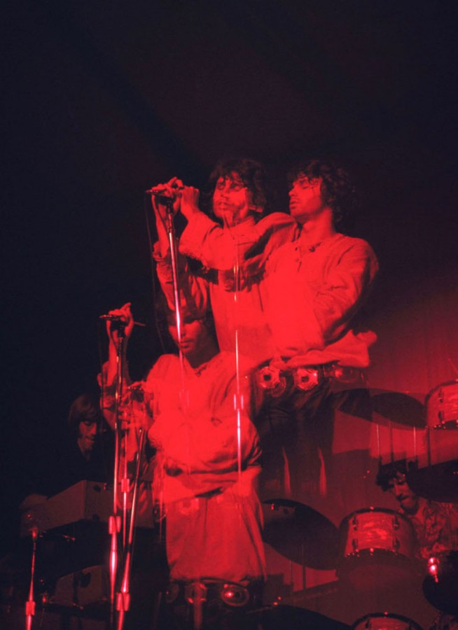 410 THE DOORS - London - Photo by David Burnett - 1968