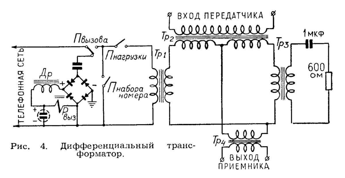 009. Схема дифференциального