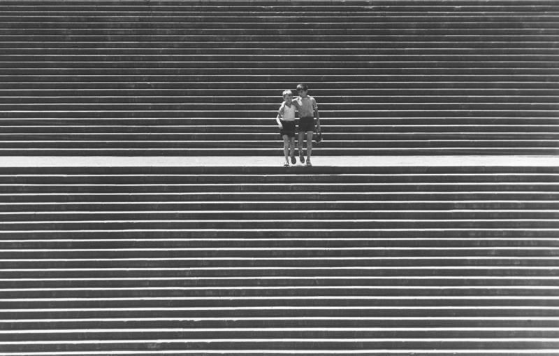 Фридрих Гринберг «Одесса. Лестница». 1969 год.jpg